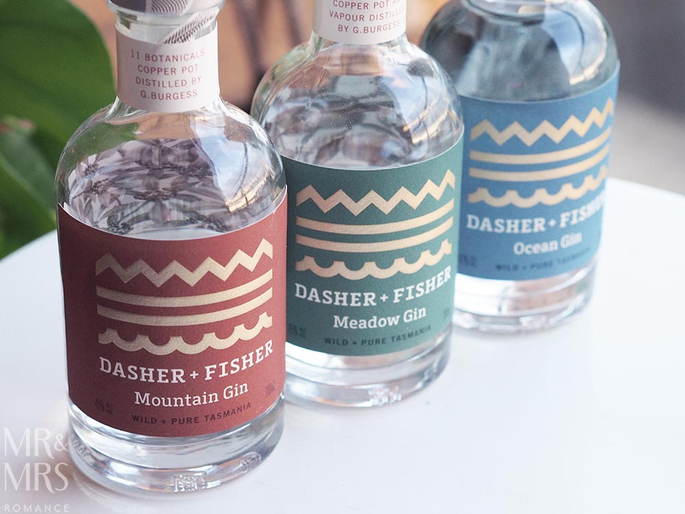 Dasher and Fisher gin