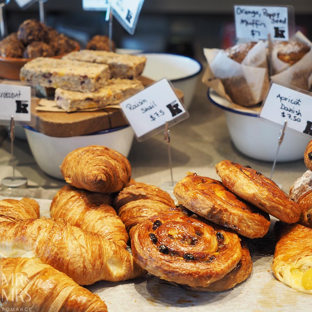Sydney Airport - worth arriving early for - Kitchen by Mike pastries