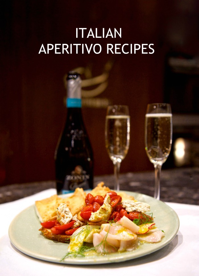 Aperitivo with Zonin Prosecco and Giovanni Pilu