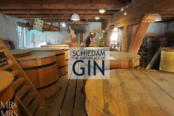 birthplace of gin Schiedam Genever Museum
