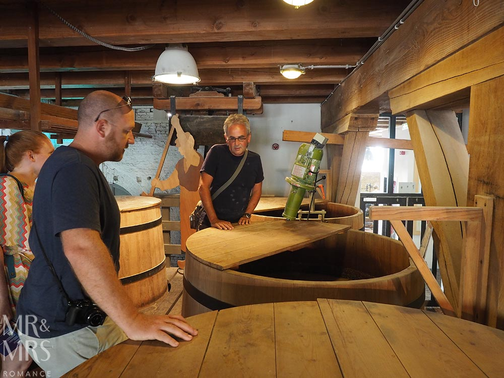 birthplace of gin Schiedam Genever Museum Peter Mulder distiller