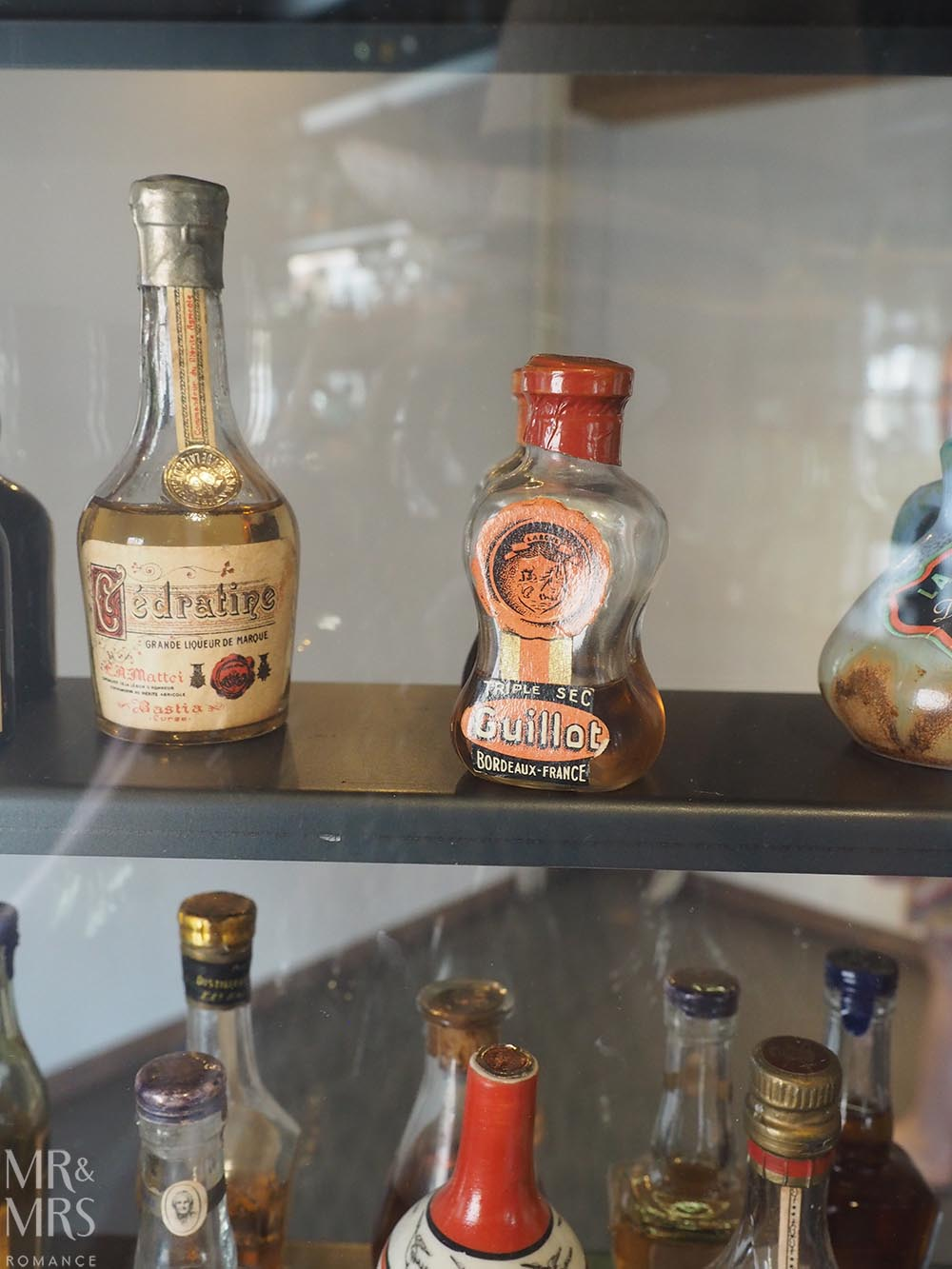 birthplace of gin Schiedam Genever Museum bottles