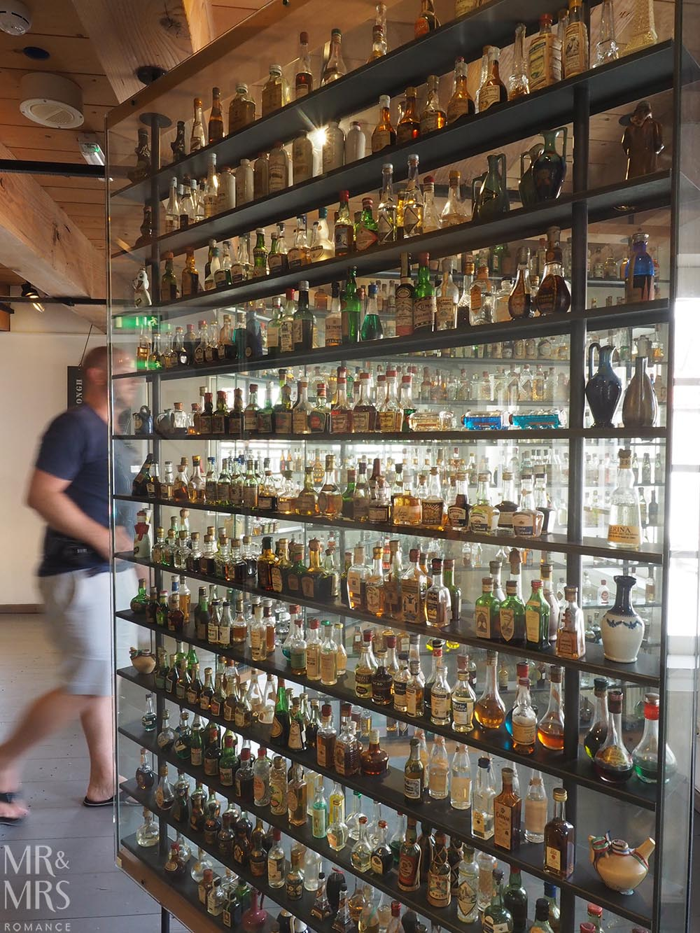 birthplace of gin Schiedam Genever Museum bottle collection