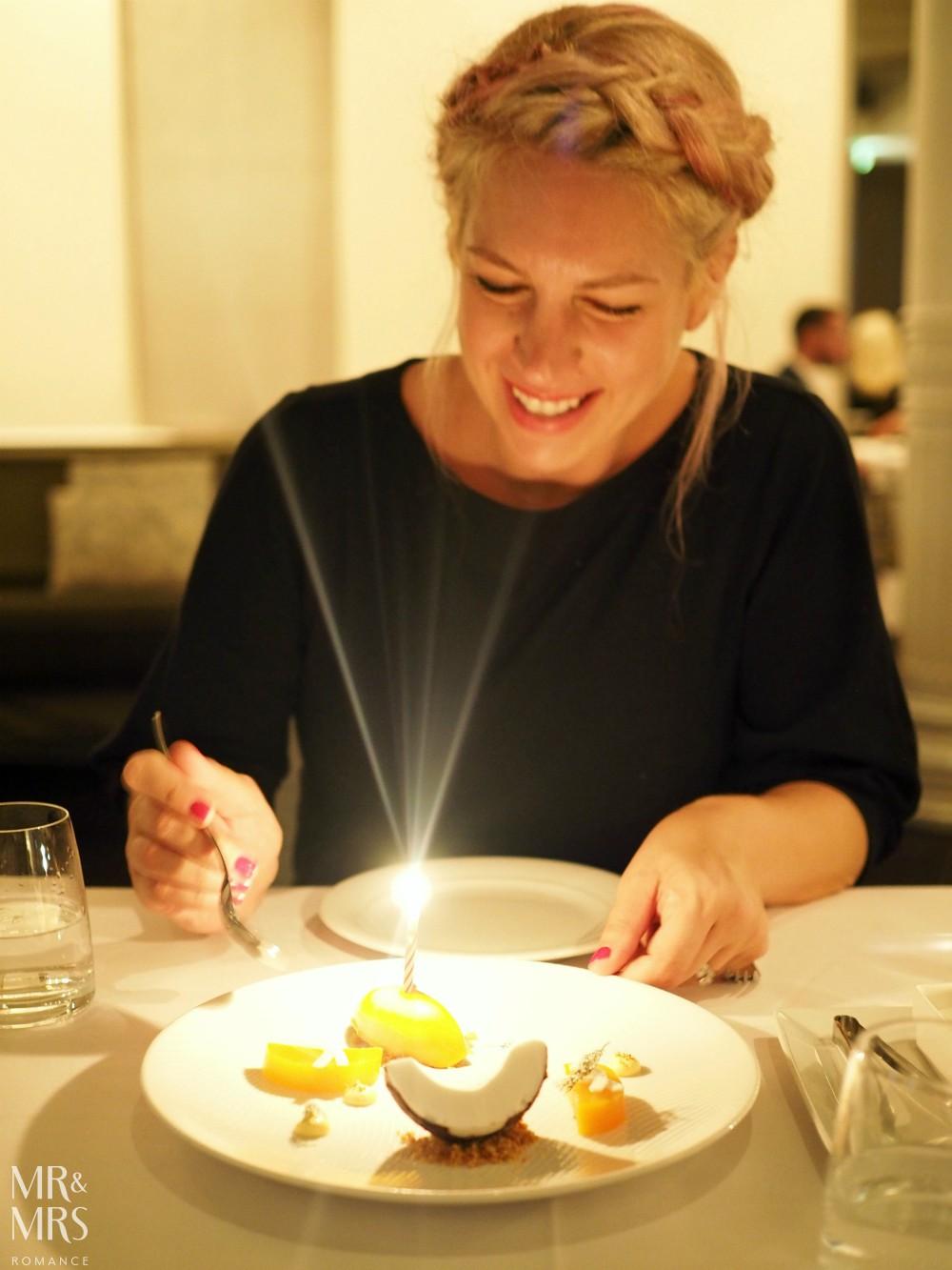 Est. Restaurant - anniversary dinner