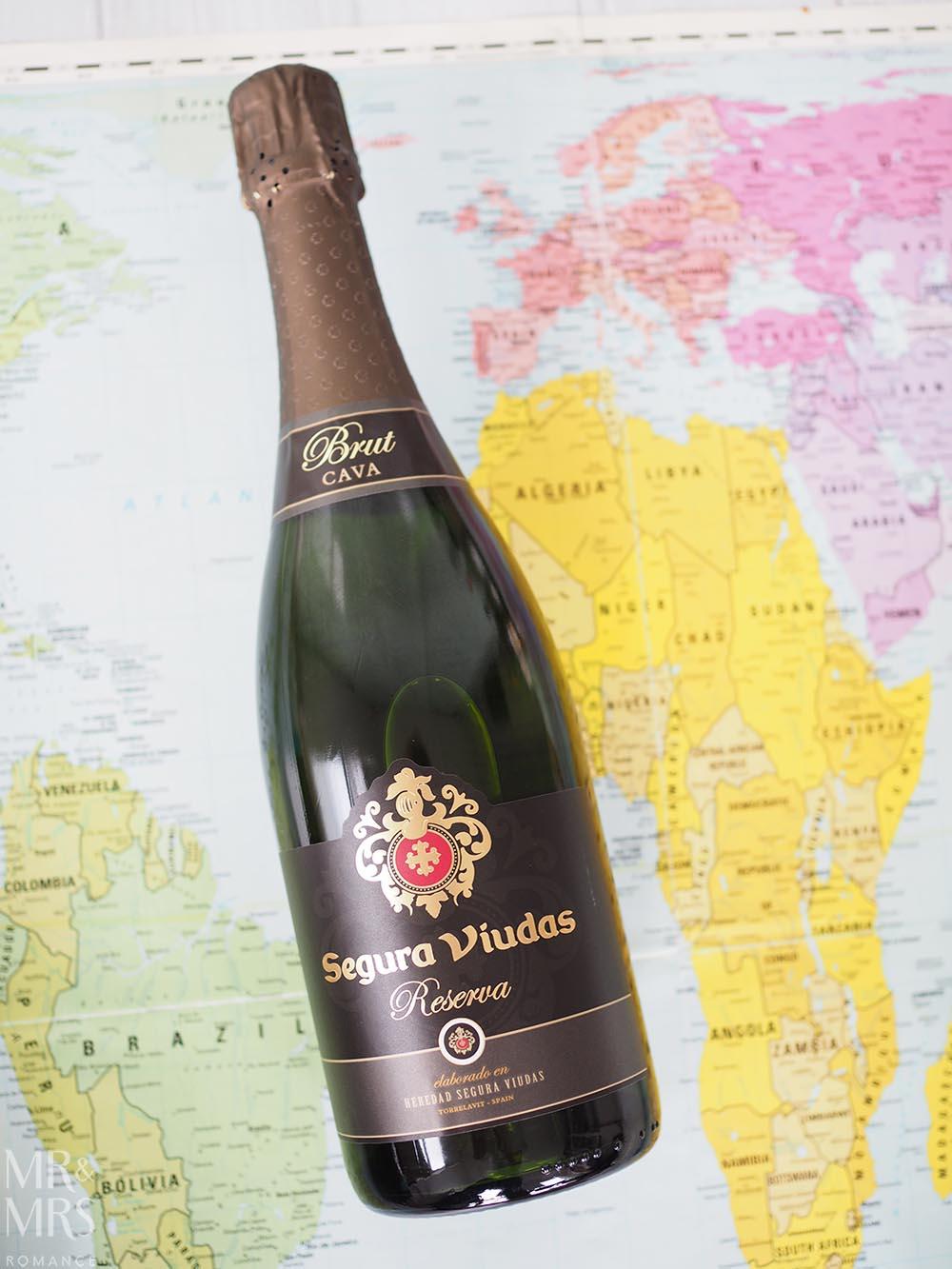 International sparkling wine - Segura Viunas - Mr and Mrs Romance