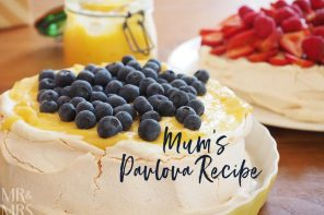 My mother's never-fail pavlova recipe
