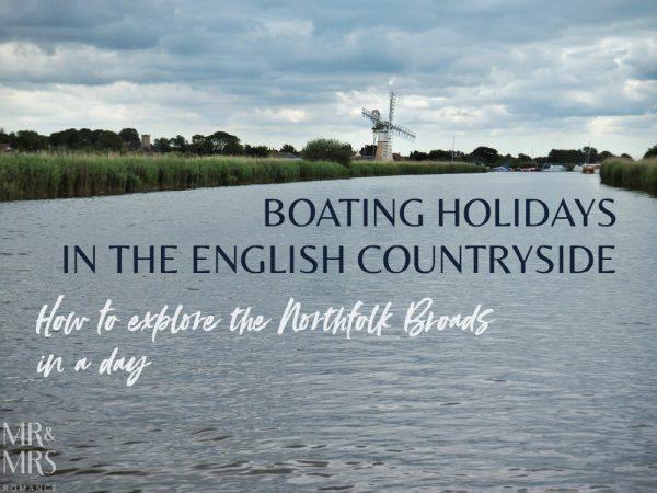Boating holidays England - Norfolk Broads boat hire