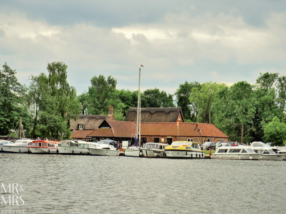 Boating holidays England - Norfolk Broads boat hire. Malthouse Broad
