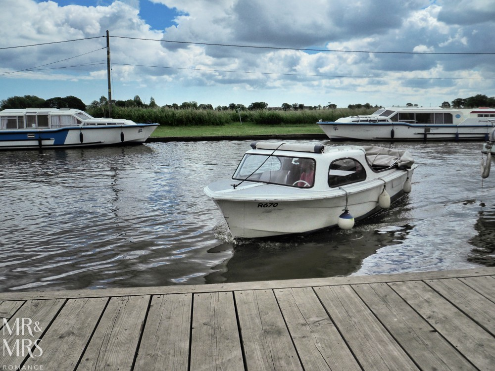 Boating holidays England - Norfolk Broads boat hire. Maycraft