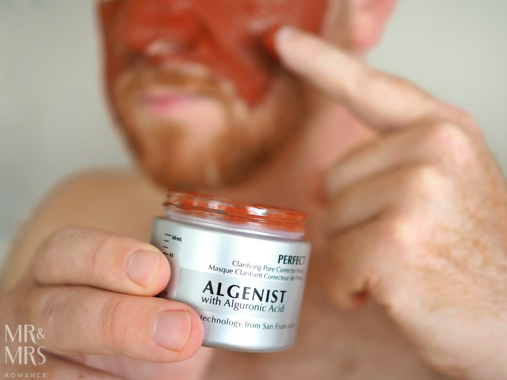 Skincare tips for men and skincare products for men - Algenist - MMR