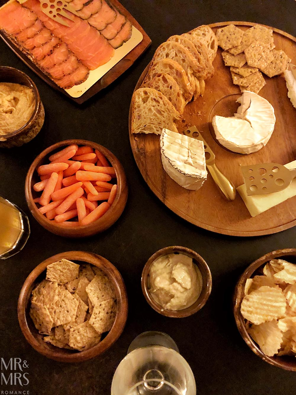 Cheese board, San Diego California