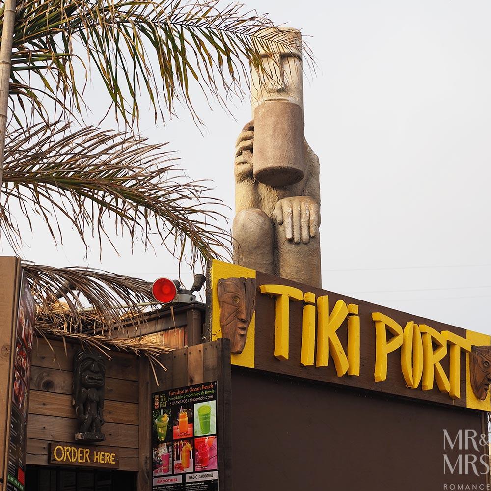 Tikki Port acai bowls Ocean Beach, San Diego California