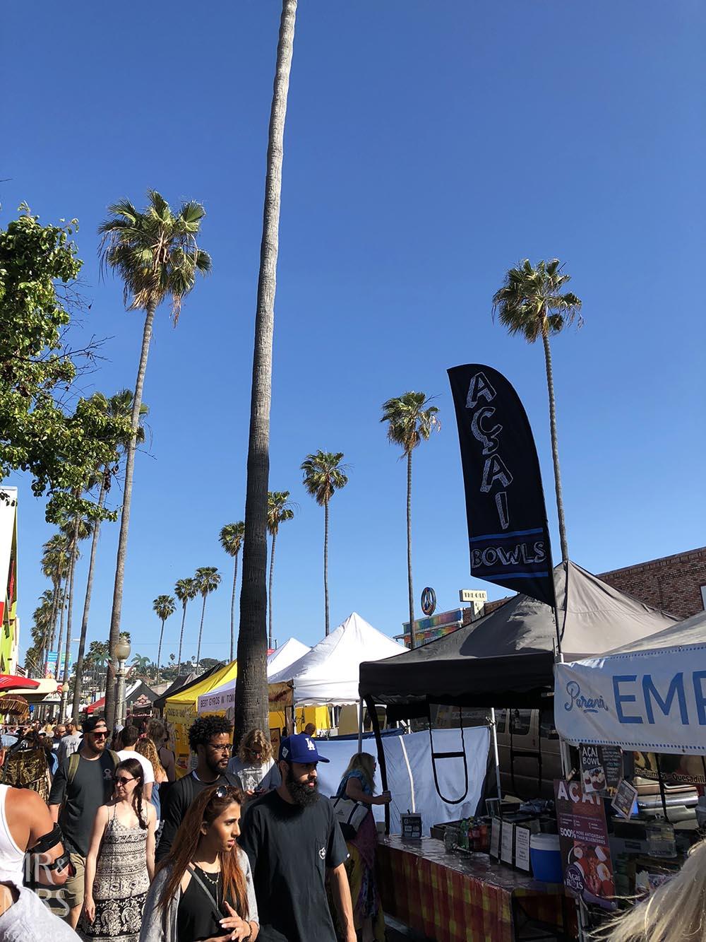 Ocean Beach farmers' market, San Diego California