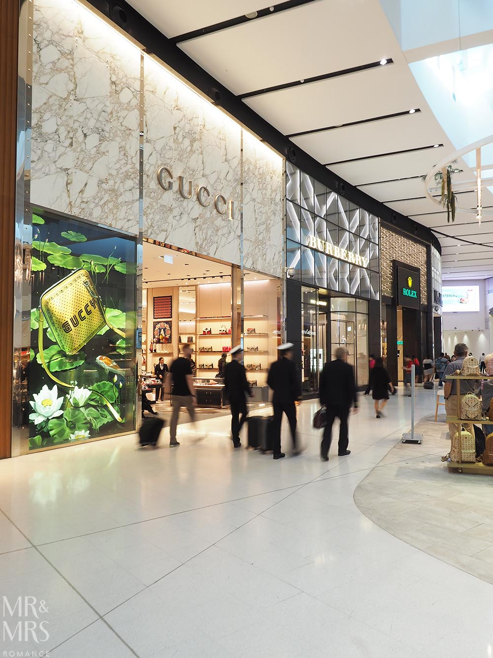 Sydney Airport guide - #wortharrivingearlyfor Gucci - MMR