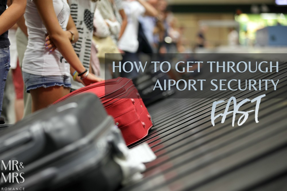 Airport security travel tips