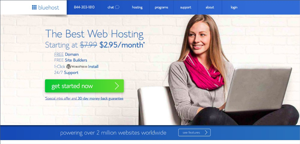 Bluehost how to start a blog - welcome