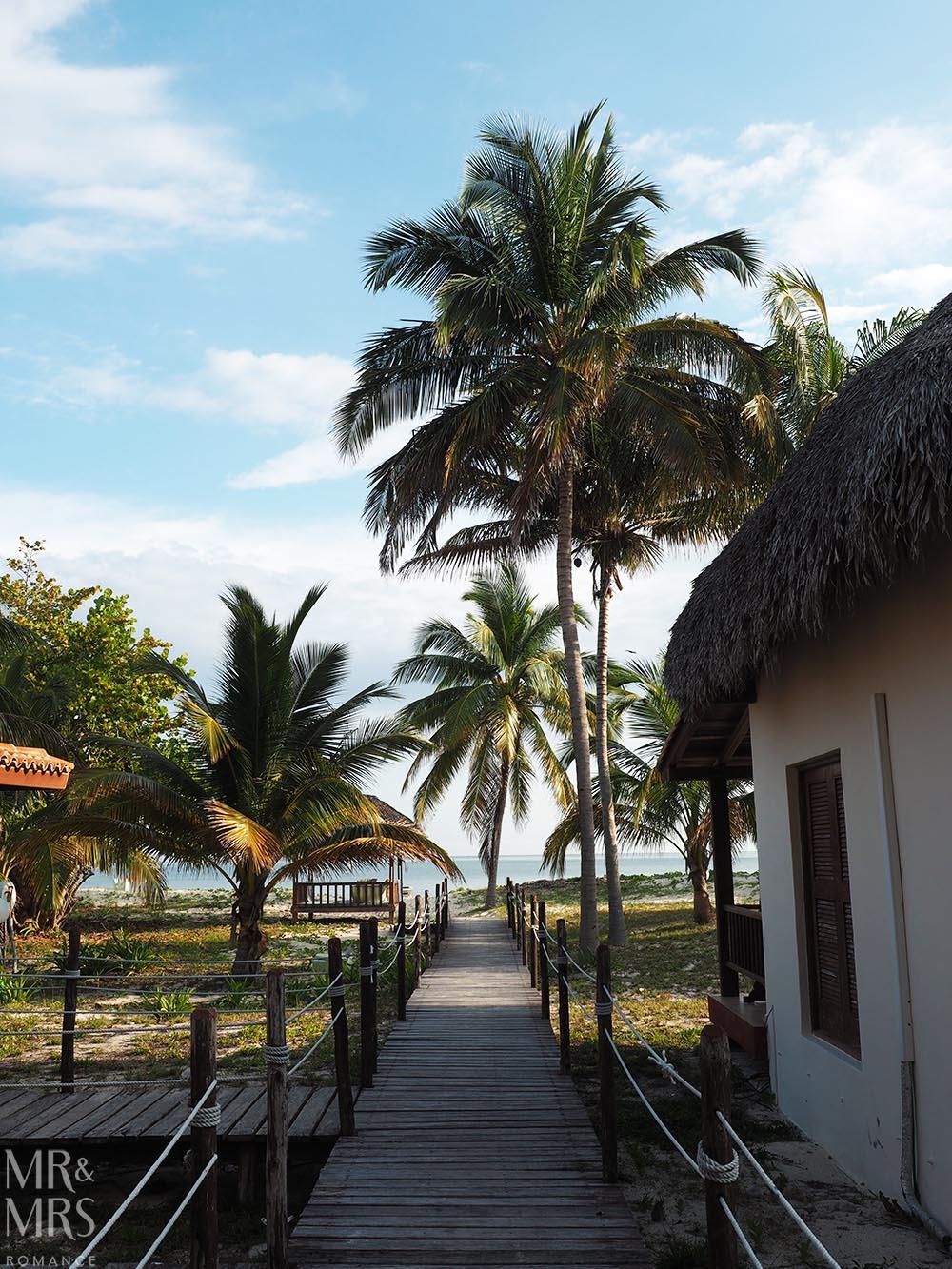 Cayo Levisa, Cuba - walk to beach