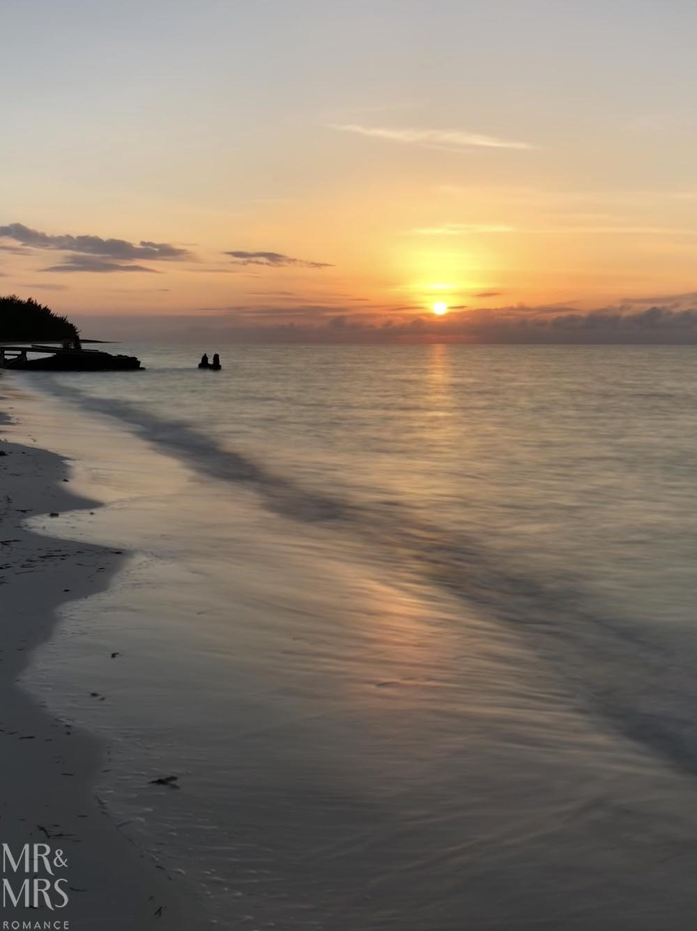 Cayo Levisa, Cuba at sunset
