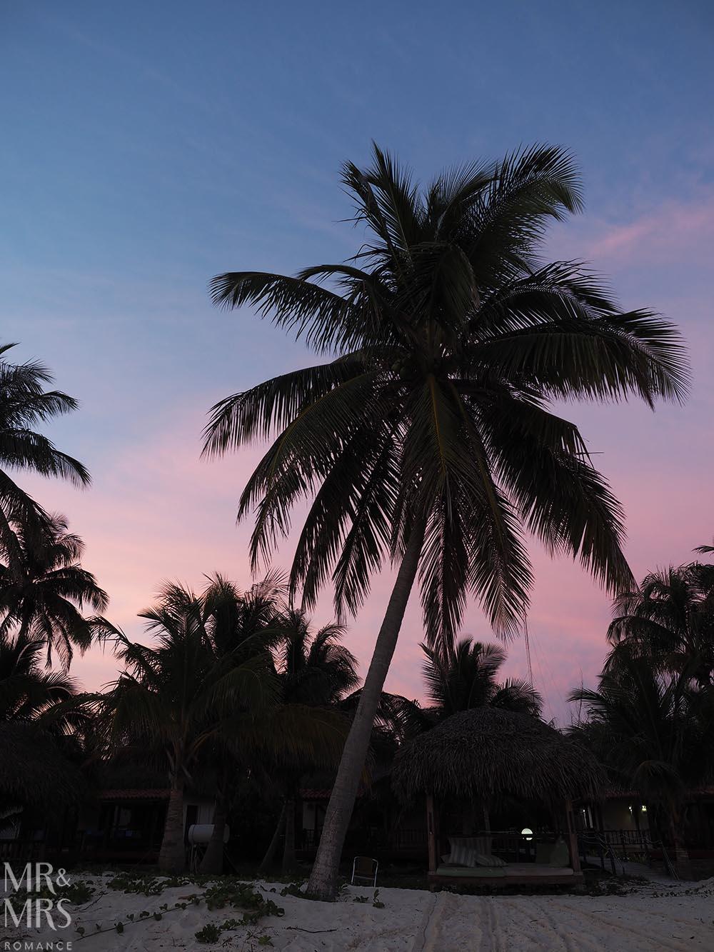 Cayo Levisa, Cuba at dawn