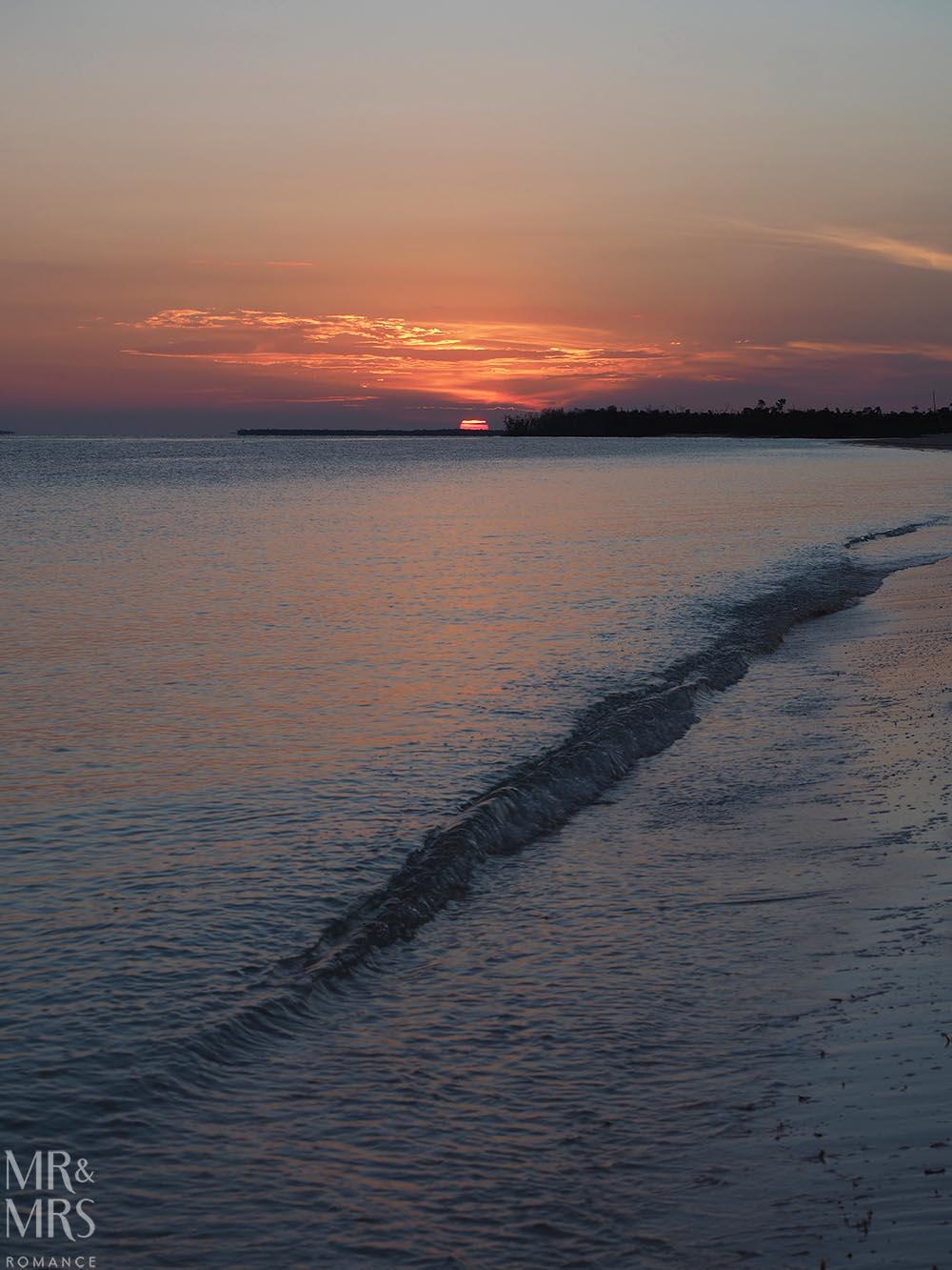 Cayo Levisa, Cuba at sunrise