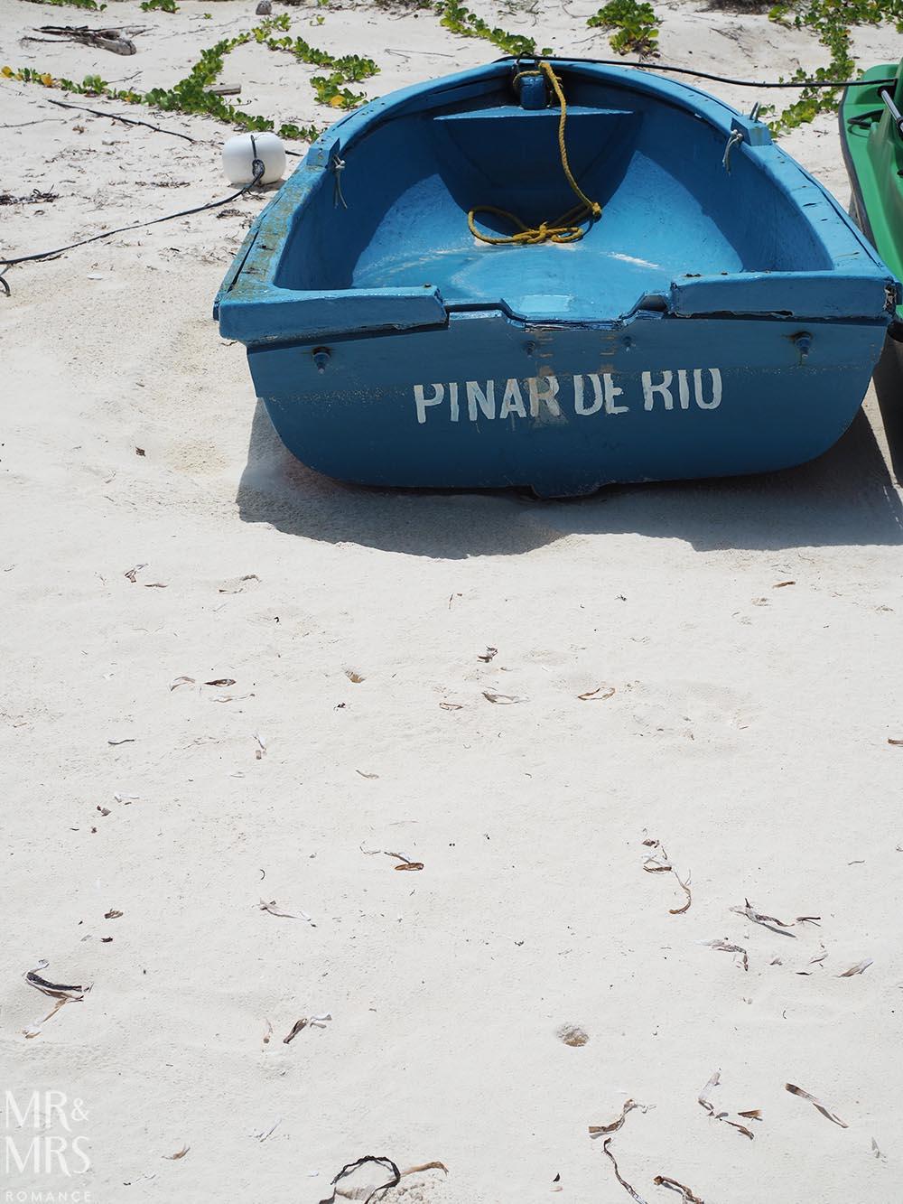 Cayo Levisa, Cuba - boat