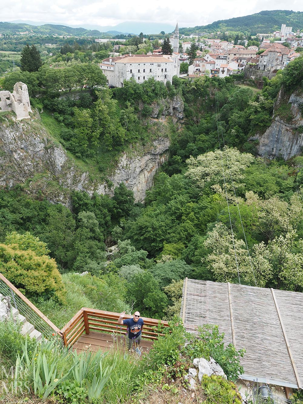 Where to go in Croatia - Pazin zipline