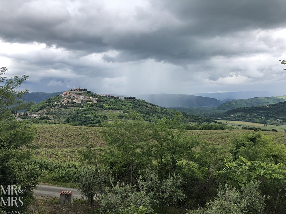 Where to go in Croatia - Motovun, Istria