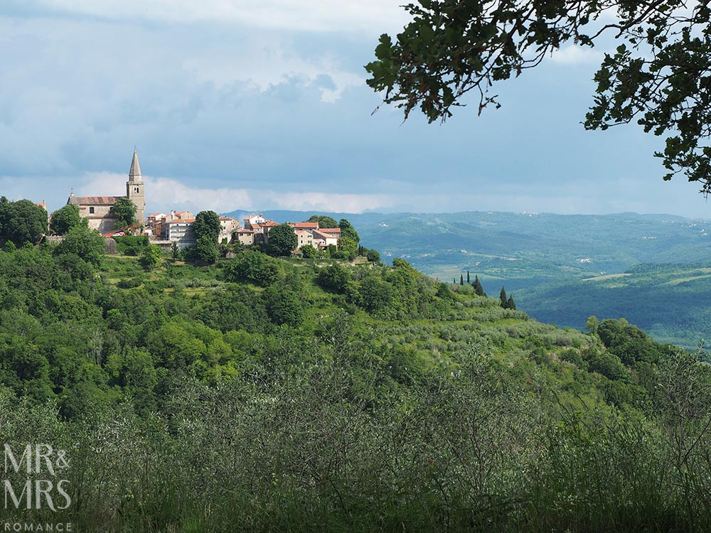 Where to go in Croatia - Groznjan, Istria
