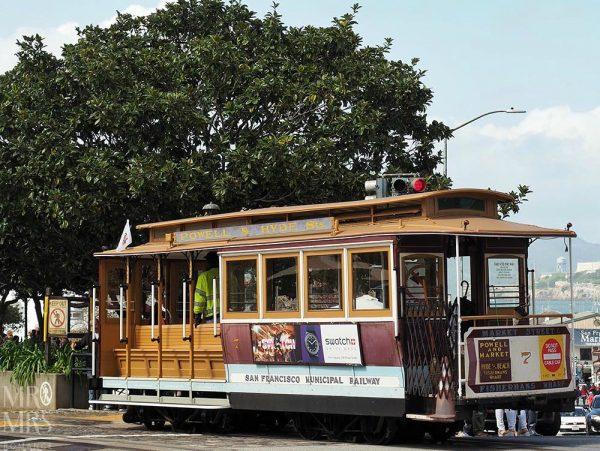 San Francisco streetcar California Line