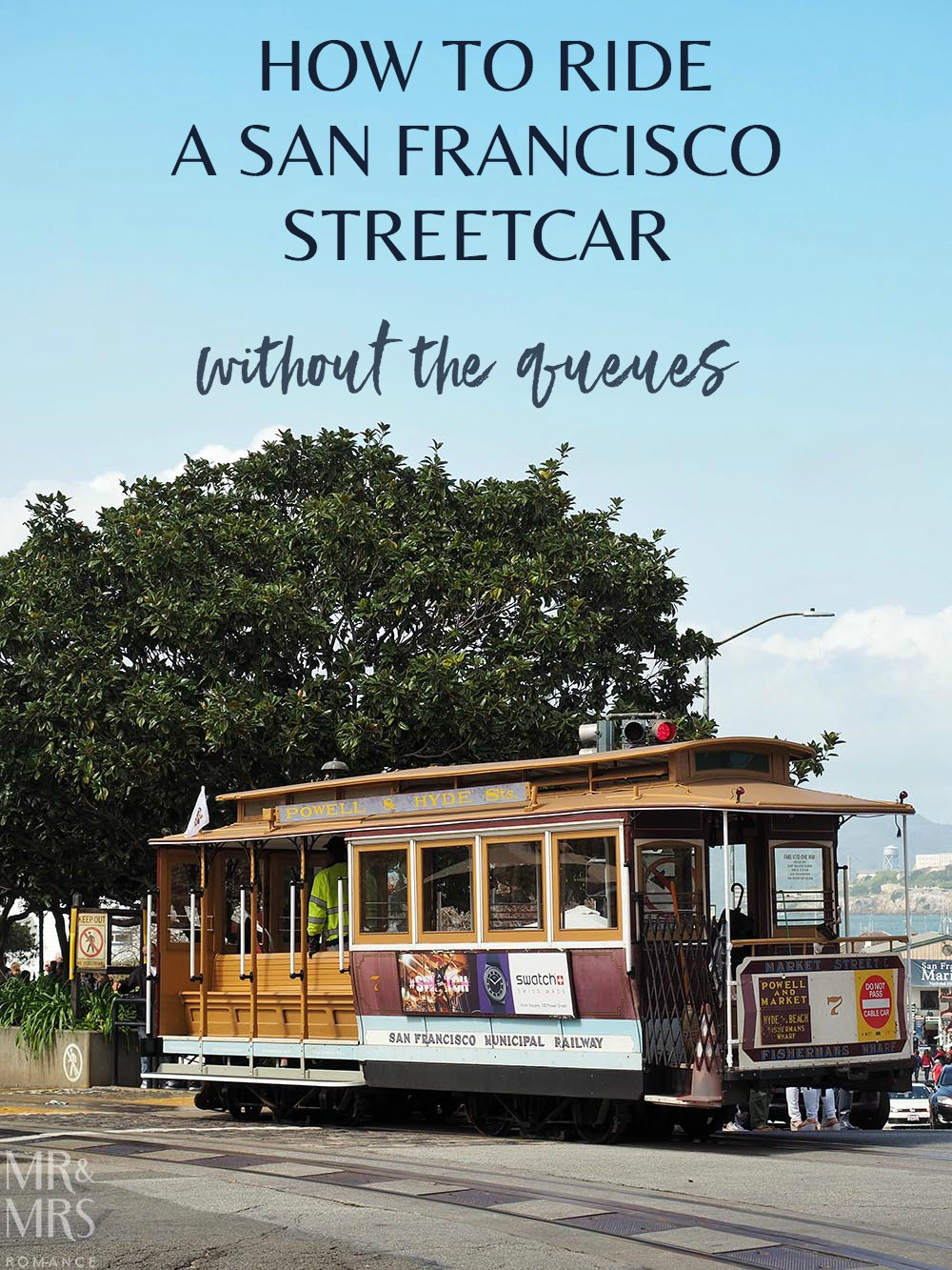 San Francisco streetcar California Line