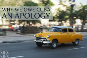 Why we owe Cuba an apology