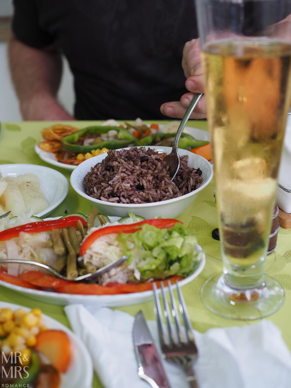 Why we owe Cuba an apology - rice and beans with ropa vieja