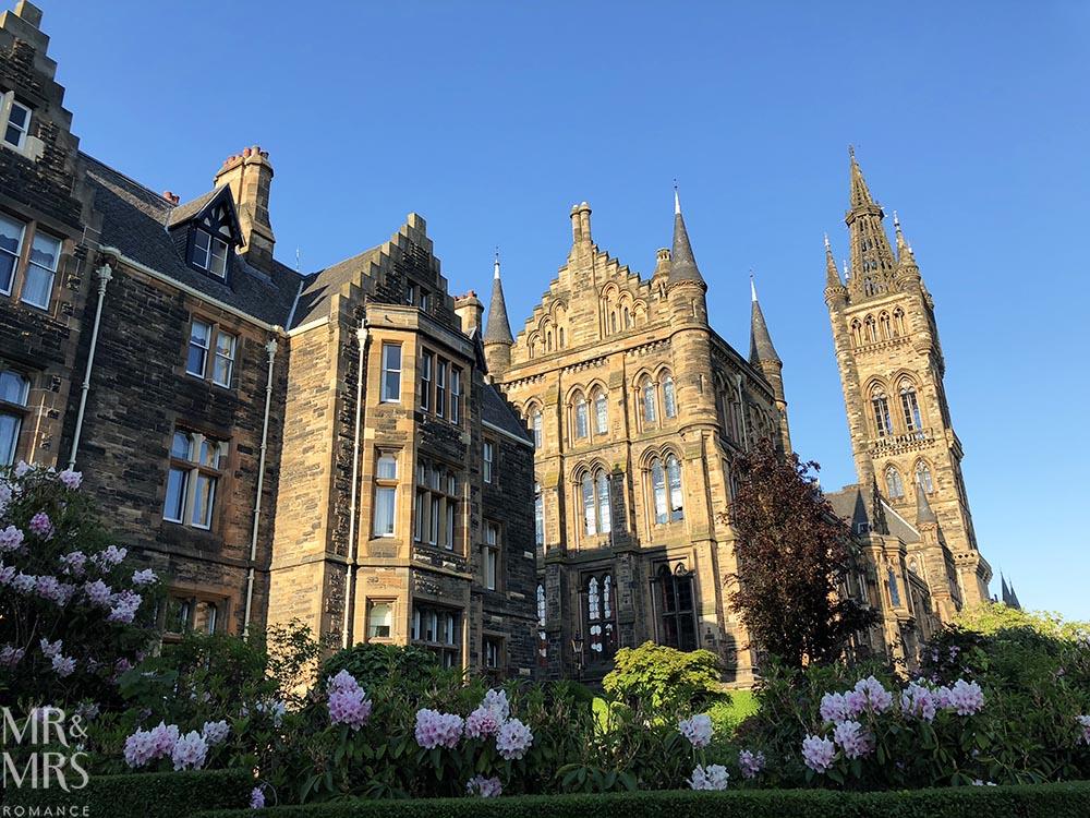 European summer Glasgow Scotland