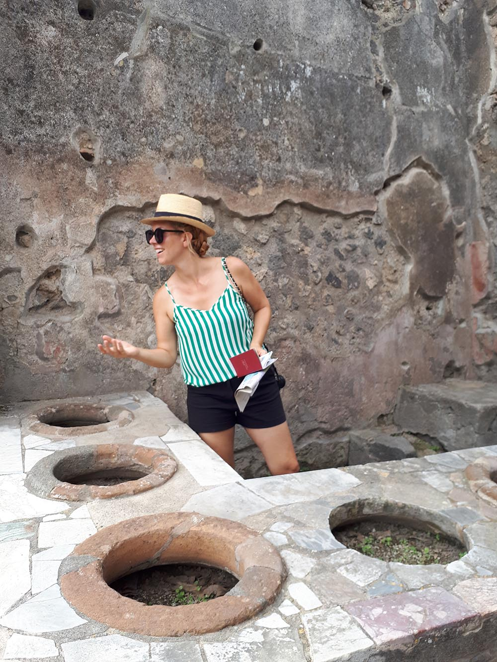 European Summer - Amalfi Coast Italy Pompeii