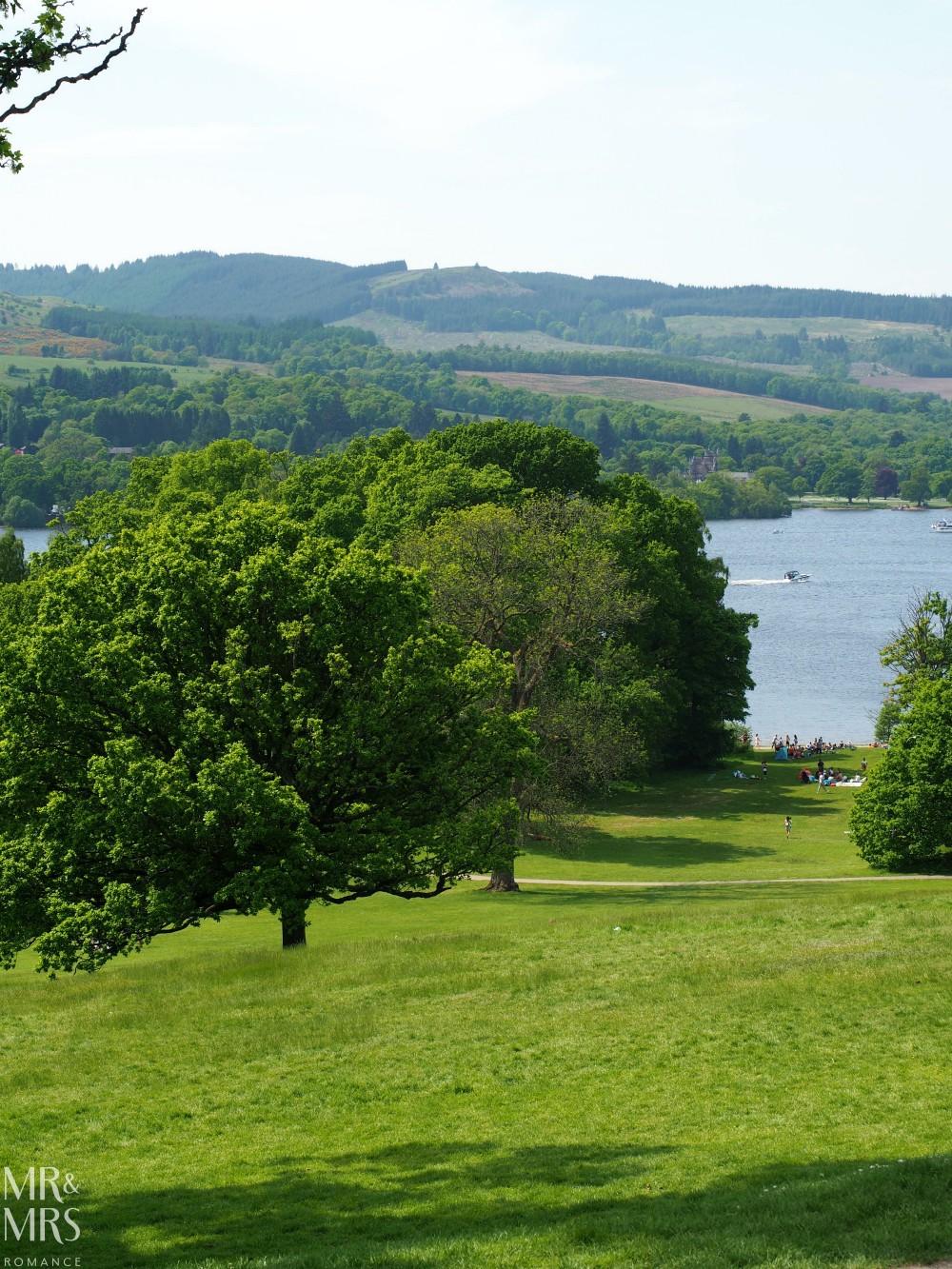 Loch Lomond without a car - Balloch Castle view