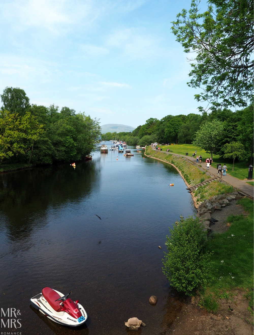 Loch Lomond without a car - Mr & Mrs Romance - Loch Lomond