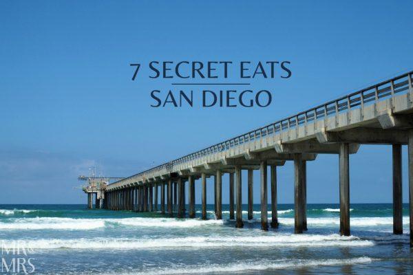 Secret eats San Diego - Mr & Mrs Romance