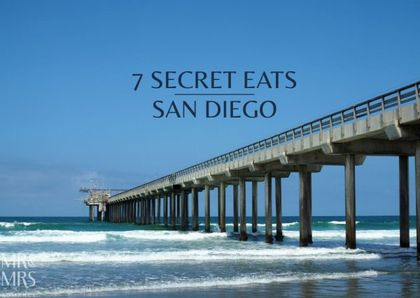 Secret eats San Diego - Mr & Mrs Romance