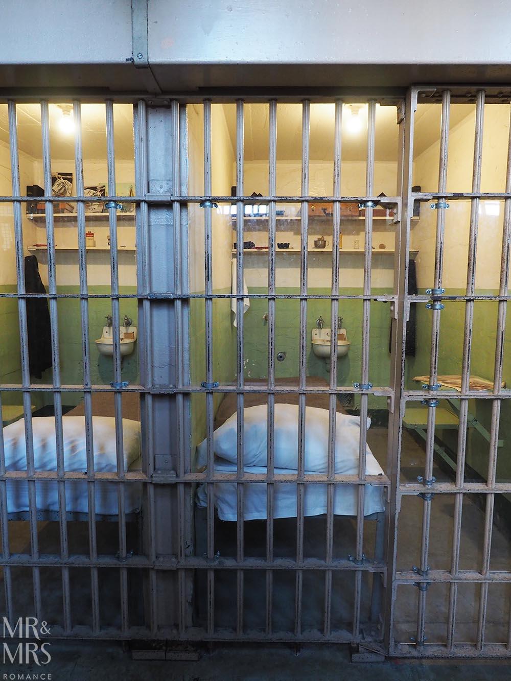 Alcatraz Island Cells San Francisco