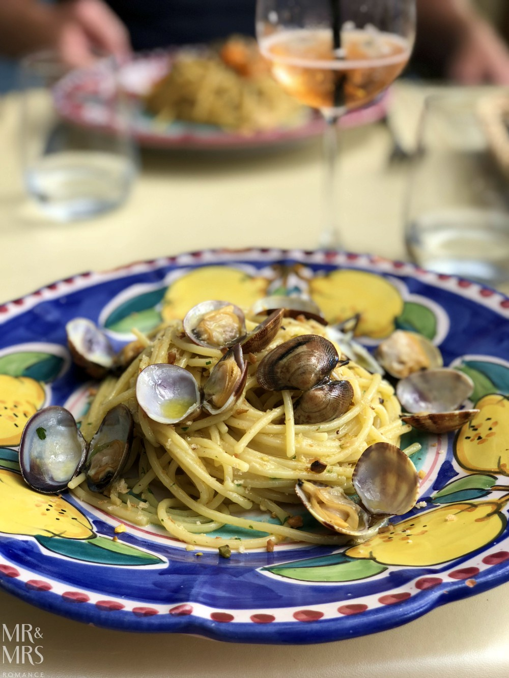 Food to eat in Naples - spaghetti alle vongole