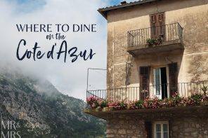 Where to eat in the South of France – Beau Séjour, Gorbio