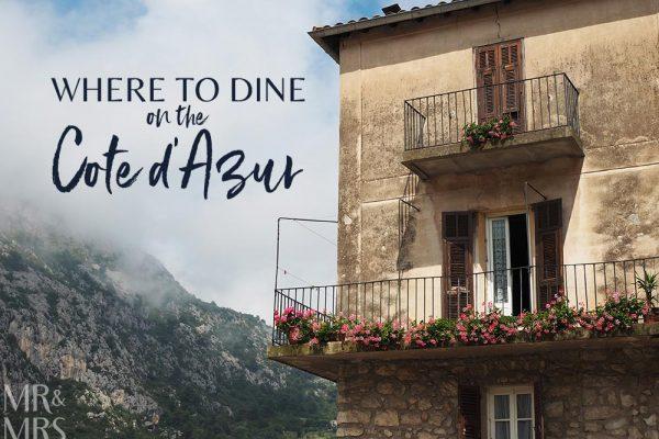 Restaurant Beau Sejour Gorbio - Mr & Mrs Romance