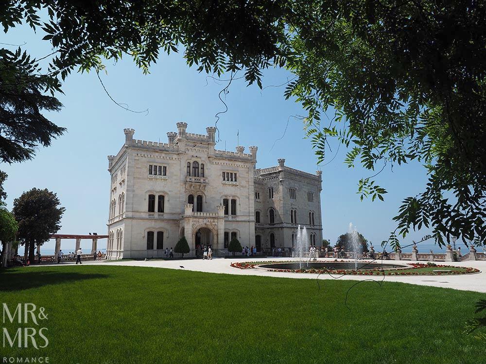 Trieste guide - Castello di Miramare