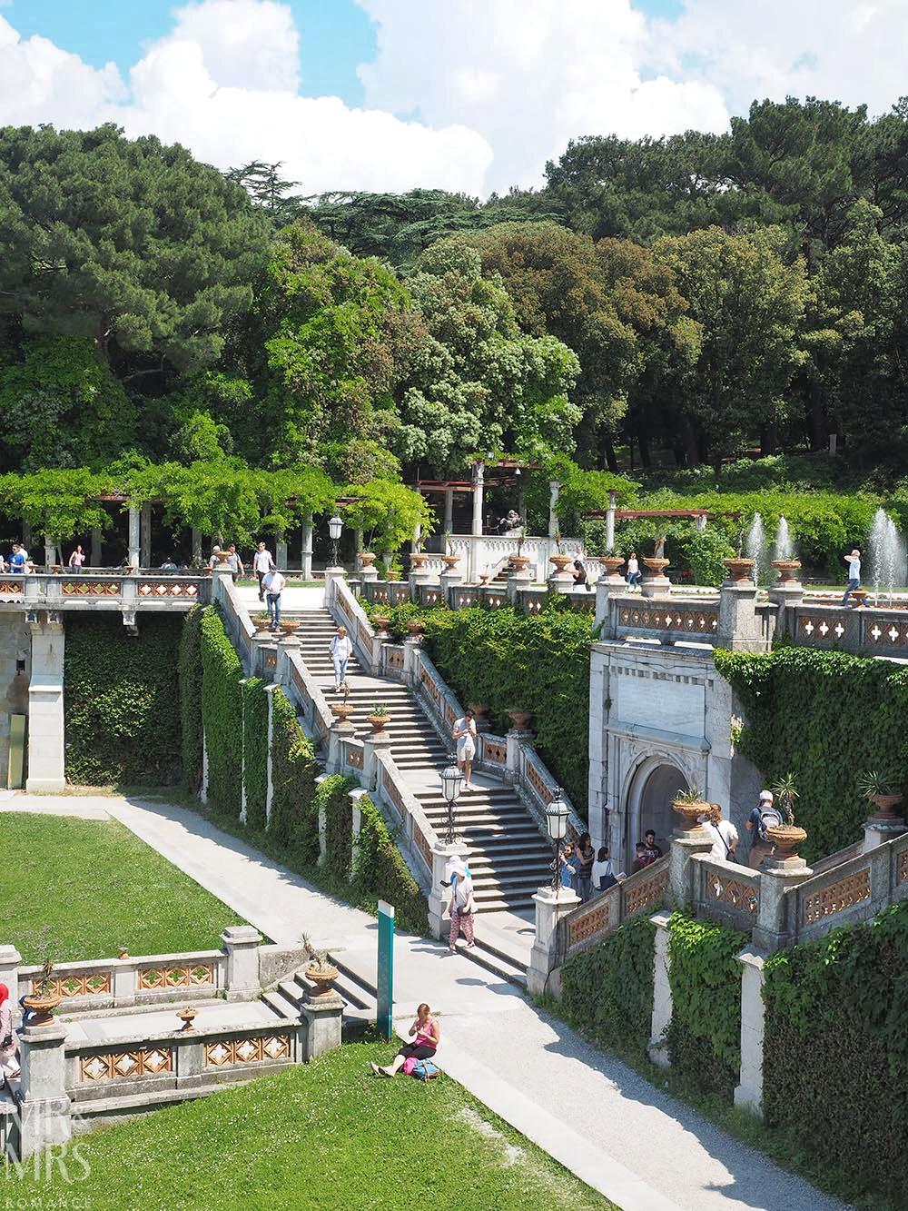 Trieste guide - Castello di Miramare gardens