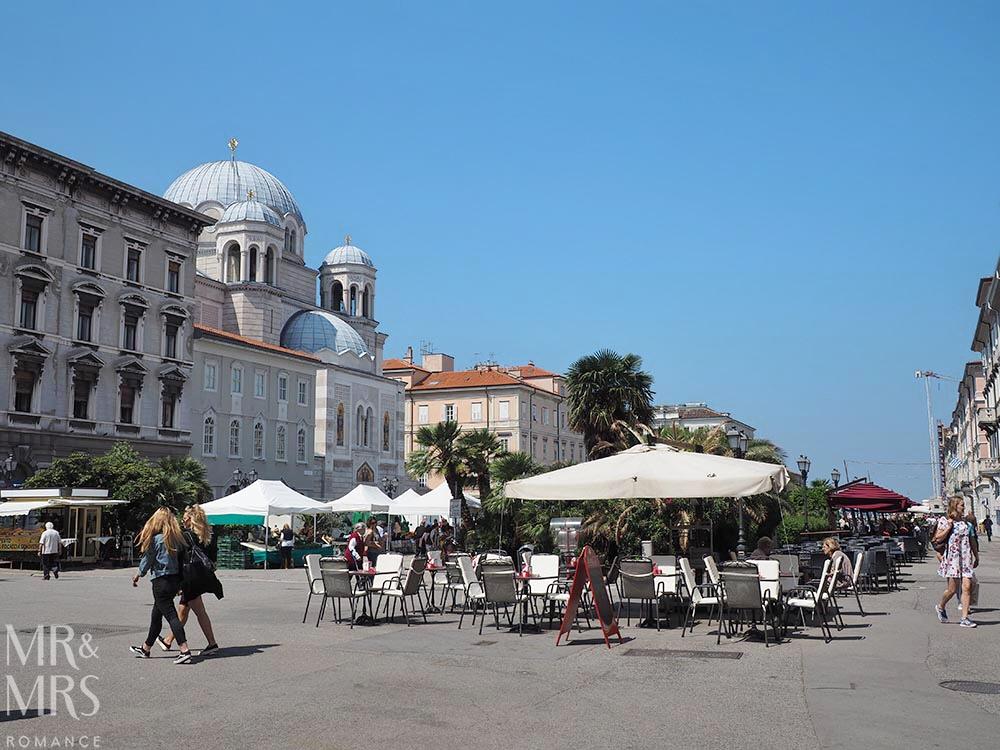 Trieste guide - Ponterosso Markets