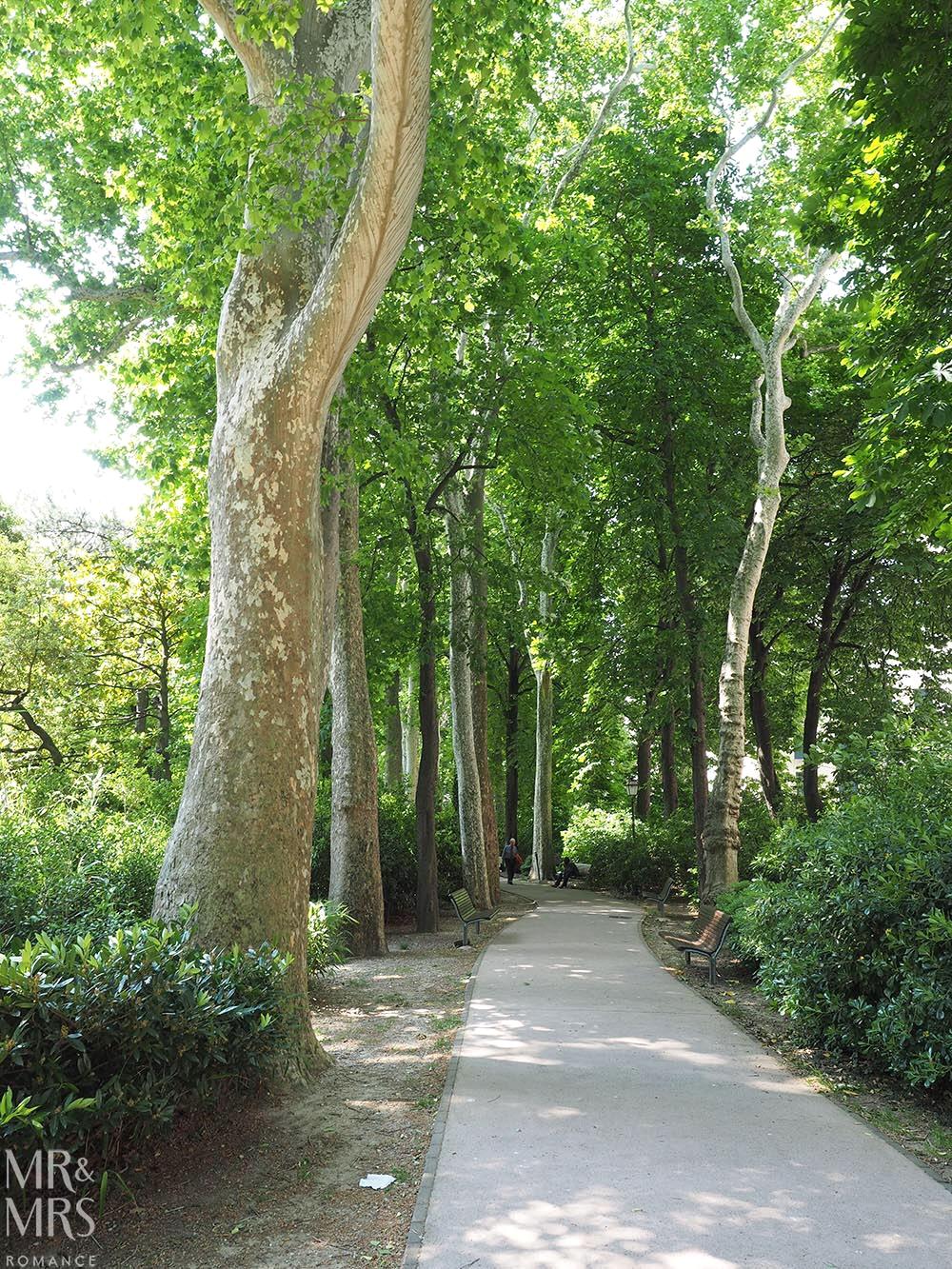 Trieste guide - gardens