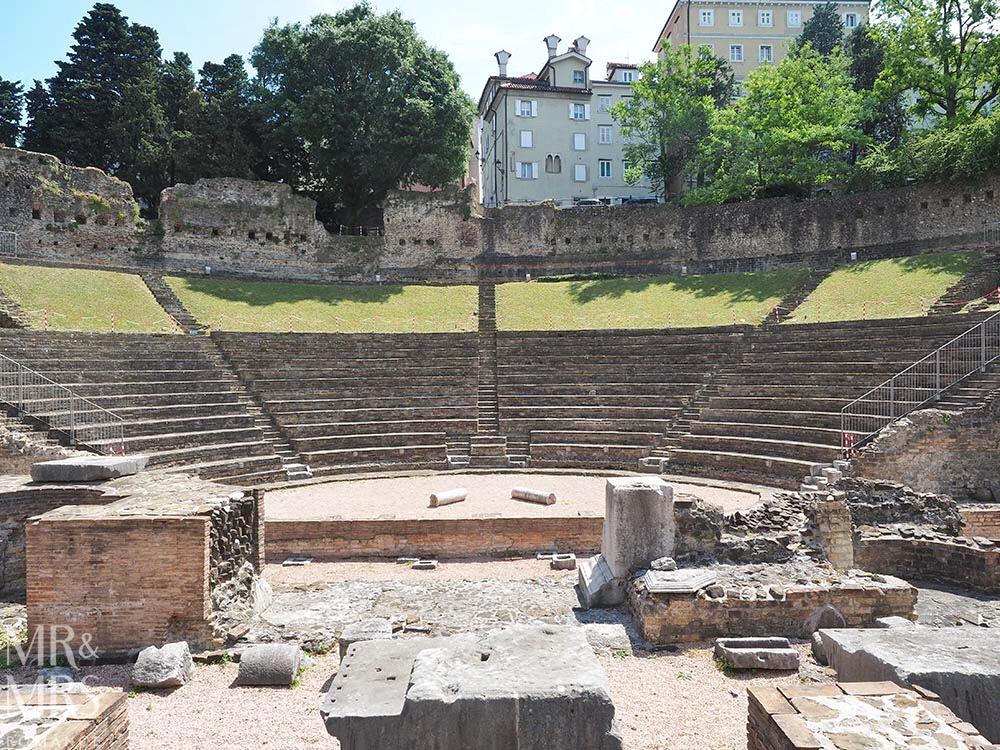 Trieste guide - Teatro Romano