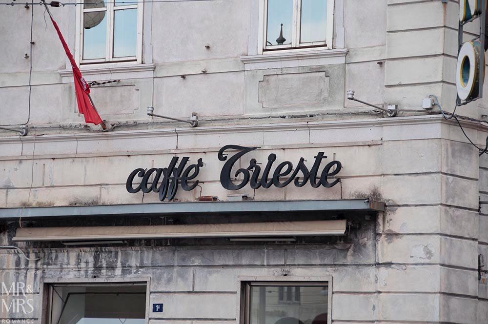 Trieste guide - Caffe Trieste