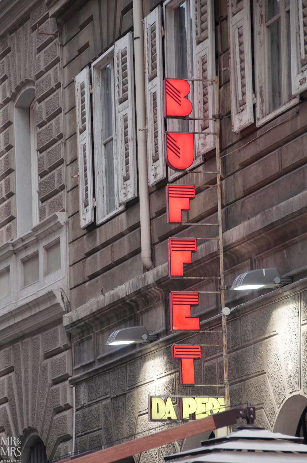 Trieste guide - Buffet da Pepi