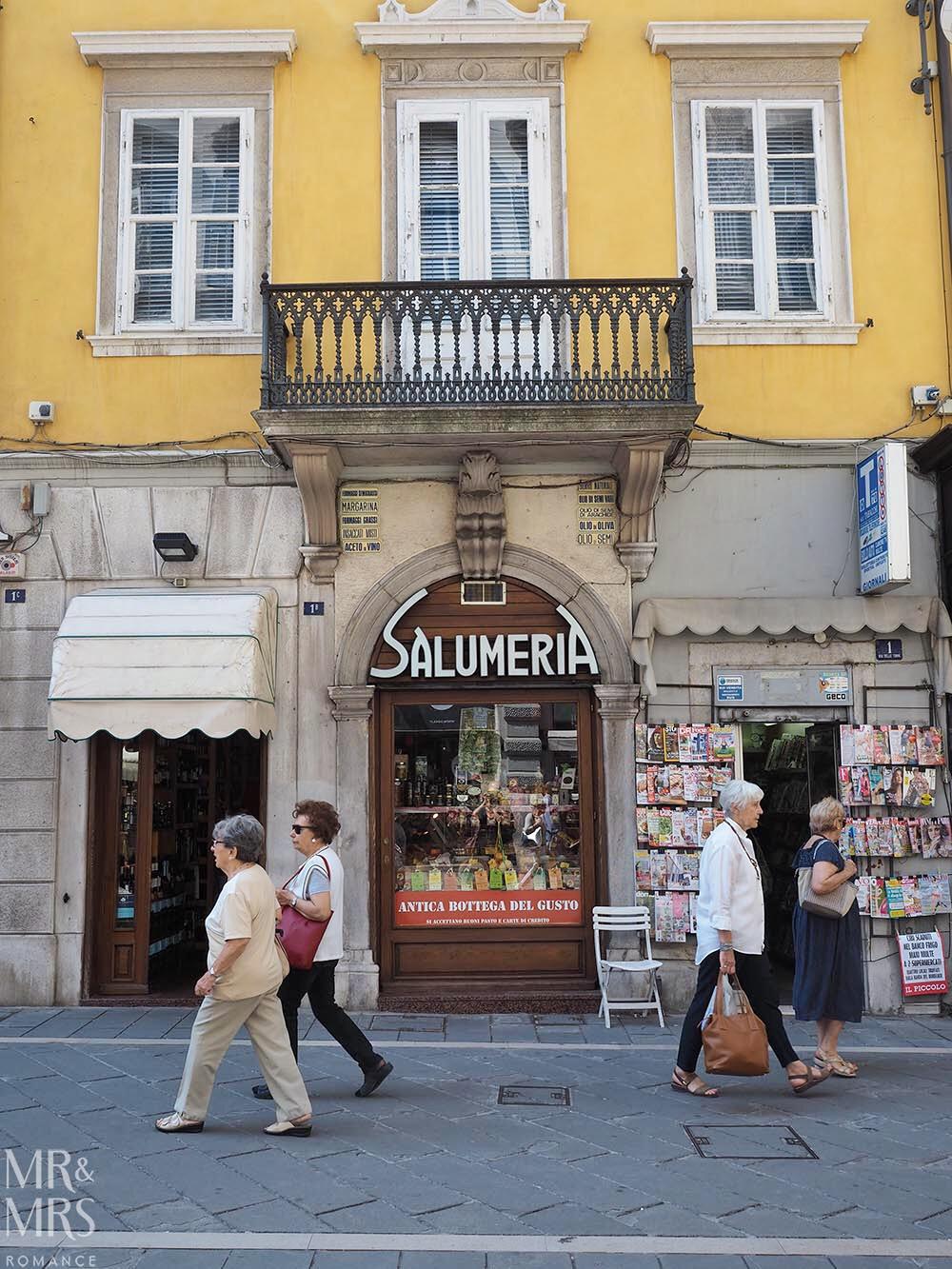 Trieste guide - Trieste salumeria